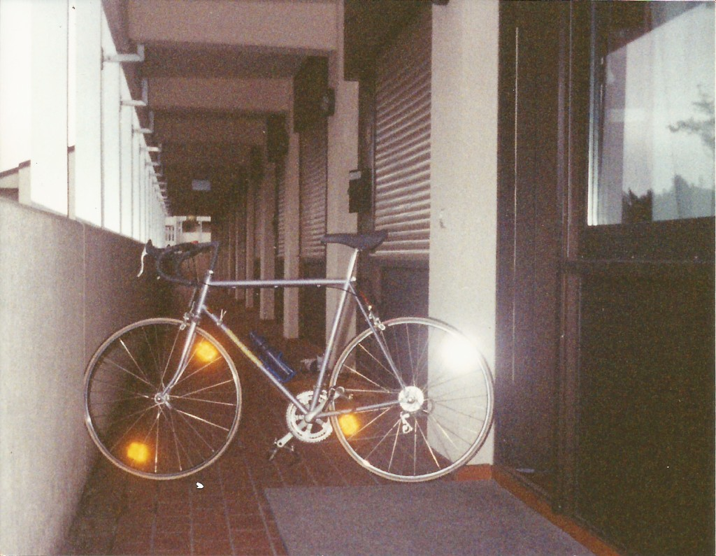 This is my first real, quality road bike.  A 1993 Peugeot.  This was 1 of 3 bikes that got stolen while I was stationed in Germany.
