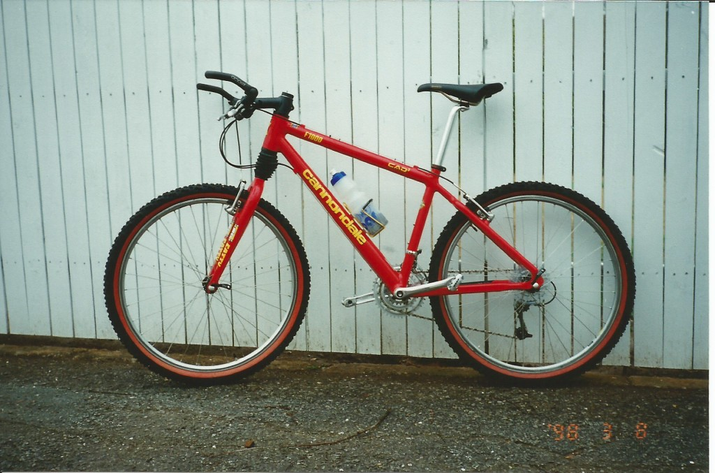 1998 Cannondale F1000