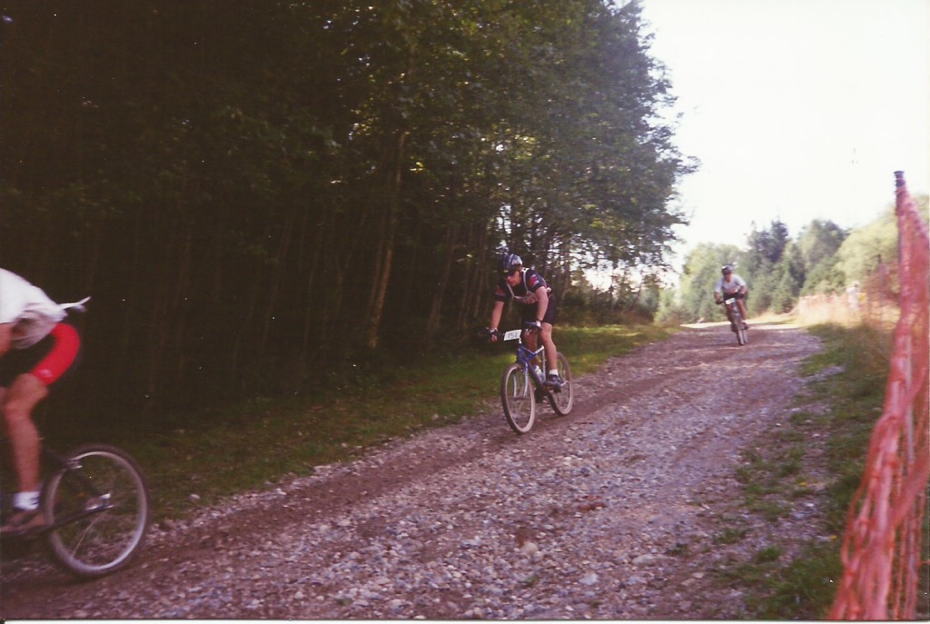 My first MTB race.  It was difficult, mostly because I wasn't acclimated to the altitude of the German Alps.