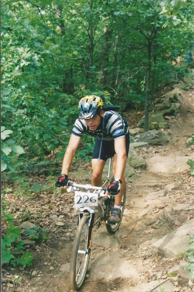MTB racing in Tulsa, OK (1997)
